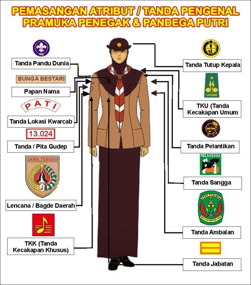 Baju Pramuka Putri