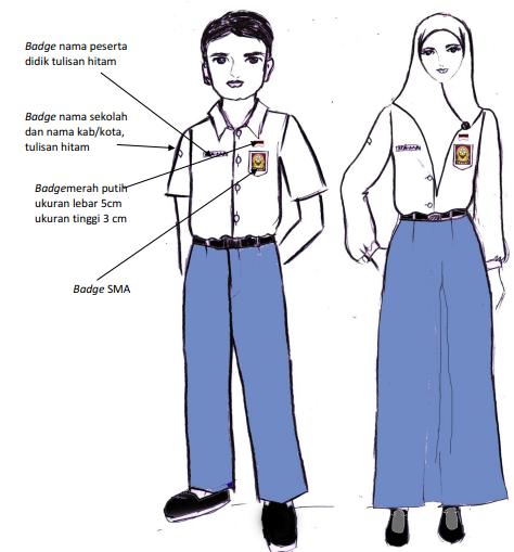 Baju Putih Abu-abu