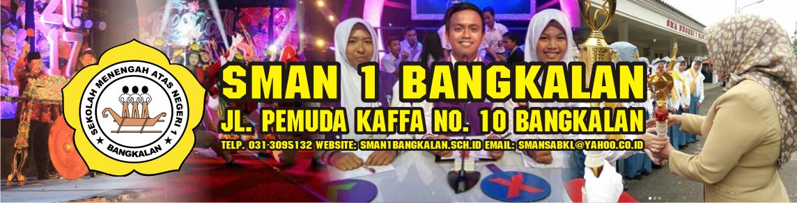Situs Resmi SMA Negeri 1 Bangkalan